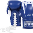 VENUM GIANT 3.0 BOXING GLOVES - NAPPA LEATHER - WITH LACES - BLUE - Potosan Corner Proshop