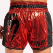 VENUM GIANT FOIL MUAY THAI SHORTS - RED/BLACK - Potosan Corner Proshop