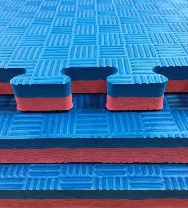 MULTI SPORT EVA FOAM PUZZLE MATT - RED/BLUE - Potosan Corner Proshop