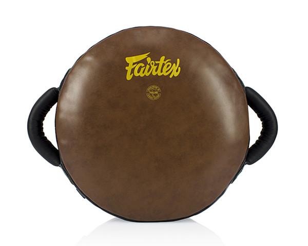 FAIRTEX LKP2 BOXING ROUND SHIELD PADS - BROWN - Potosan Corner Proshop