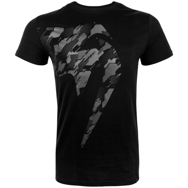 VENUM TECMO GIANT T-SHIRT - BLACK/GREY - Potosan Corner Proshop