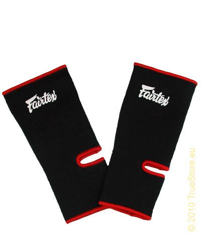 FAIRTEX AS1 ANKLE SUPPORT - BLACK/RED - Potosan Corner Proshop