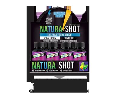 NATURA -  NATURA SHOT (1 BOX 6 Bottle inside) - Potosan Corner Proshop