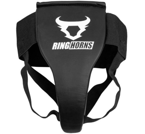 RINGHORNS CHARGER GROIN GUARD & SUPPORT - FOR WOMEN - BLACK - Potosan Corner Proshop