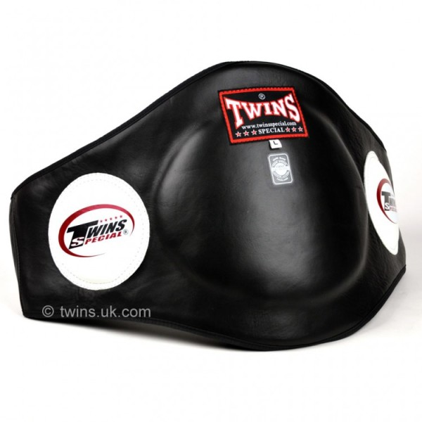 Twins Black Leather Belly Pad - Potosan Corner Proshop