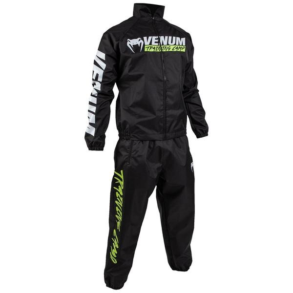 VENUM SAUNA SUIT TRAINING CAMP - BLACK  - Potosan Corner Proshop