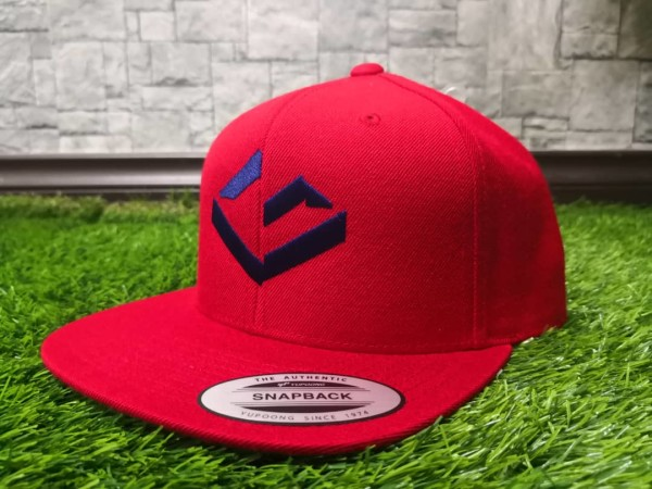 GOOD VILLAIN SNAPBACK - RED - Potosan Corner Proshop