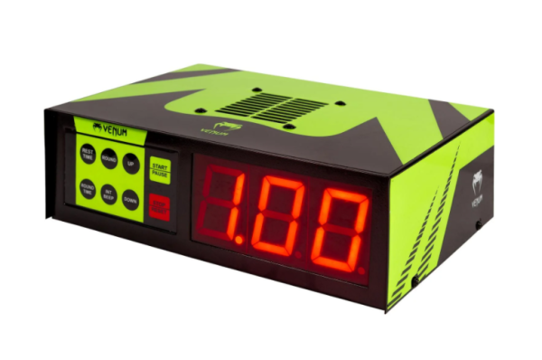 VENUM BOXING TIMER - BLACK/YELLOW - Potosan Corner Proshop