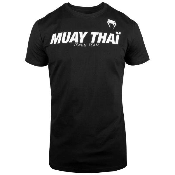 VENUM MUAY THAI VT T-SHIRT - BLACK - Potosan Corner Proshop