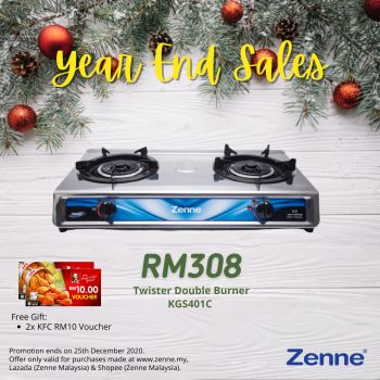 Two-Burner Induction Cooker (KEH-EE201-GB) - Zenne Malaysia