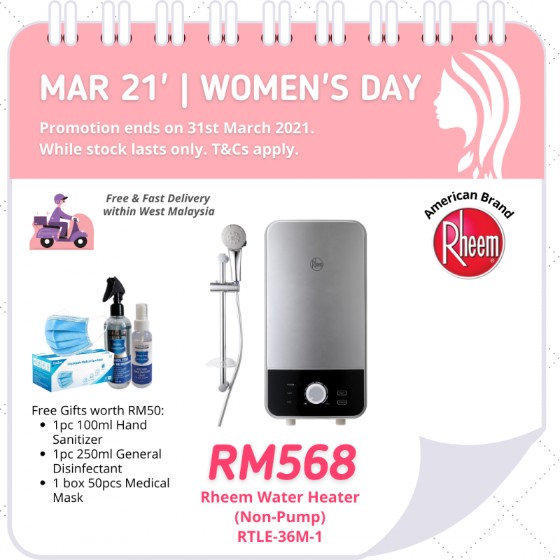 Instantaneous Water Heater RTLE-36M-1