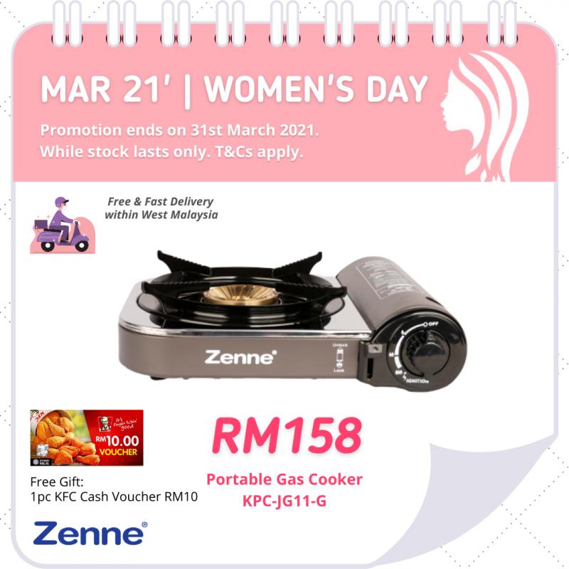 Twister Double Burner (KGS401C) - Zenne Malaysia