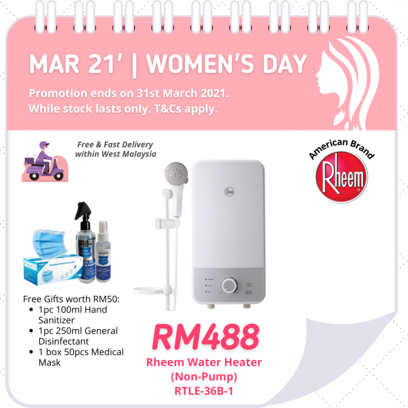 Instantaneous Water Heater RTLE-36B-1