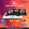 Turbo Twister Burner Hob Cooker (KGH313EN) - Zenne Malaysia