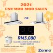 Hood + Induction Hob (KEH-EE201-GB)  - Zenne Malaysia