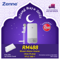 Instantaneous Water Heater RTLE-36B-1 - Zenne Malaysia