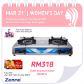 Twister Double Burner (KGS301C) - Zenne Malaysia