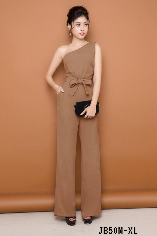 Brown Dertiny Jumpsuit