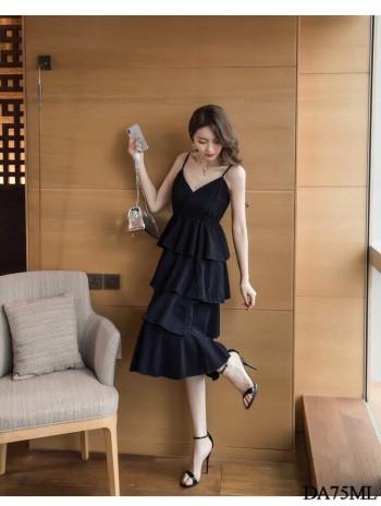 Vintage Summer Long Dress (Premium)