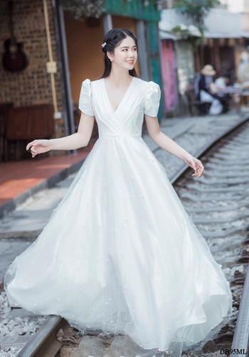[PRE-ORDER] Camilia Maxi Dress in White