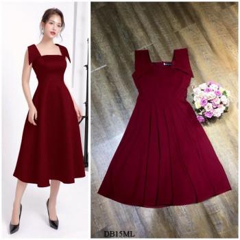 [PRE-ORDER] Gianna Midi Dress in Red (Premium)
