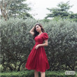 [PRE-ORDER] Nancy Dress in Red (Premium) - HerSpace Closet