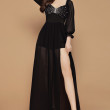 [PRE-ORDER] Yara Maxi Dress in Black - HerSpace Closet