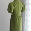 Green Elegant Collar Dress - HerSpace Closet
