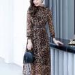 [PRE-ORDER] Jane Midi Dress with Leopard Spots - HerSpace Closet