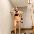 [PRE-ORDER] Sylvia 2 Pieces in Light Brown - HerSpace Closet