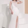 [PRE-ORDER] Zoey Maxi Dress in White (Premium) - HerSpace Closet