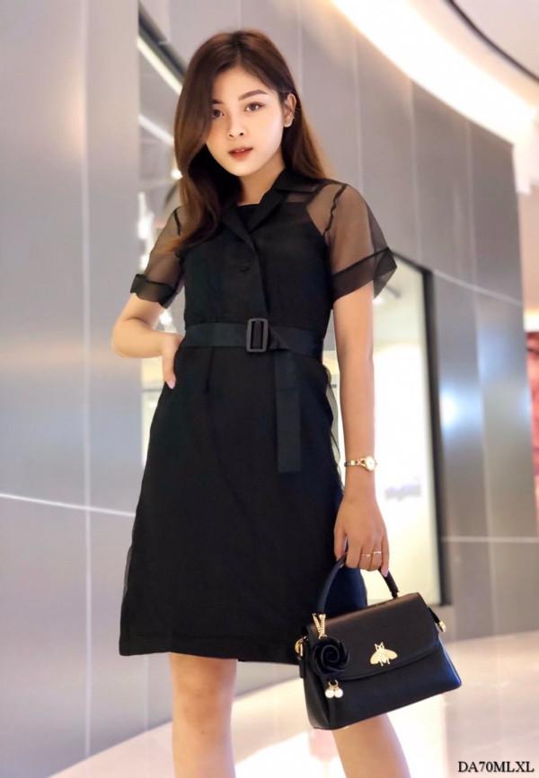[PRE-ORDER] Harrison Mini Dress in Black - HerSpace Closet