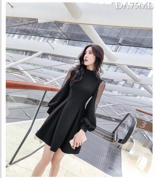 Ciara Dress in Black - HerSpace Closet