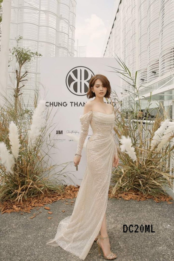 [PRE-ORDER] Wendy Elegant Maxi Dress - HerSpace Closet