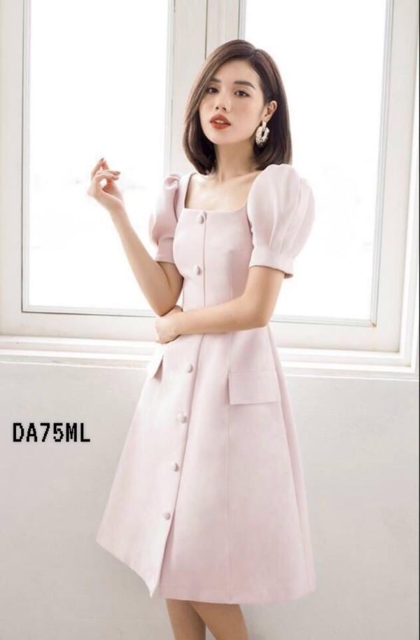 Elegant Sofie Midi Dress in Cream (Premium) - HerSpace Closet