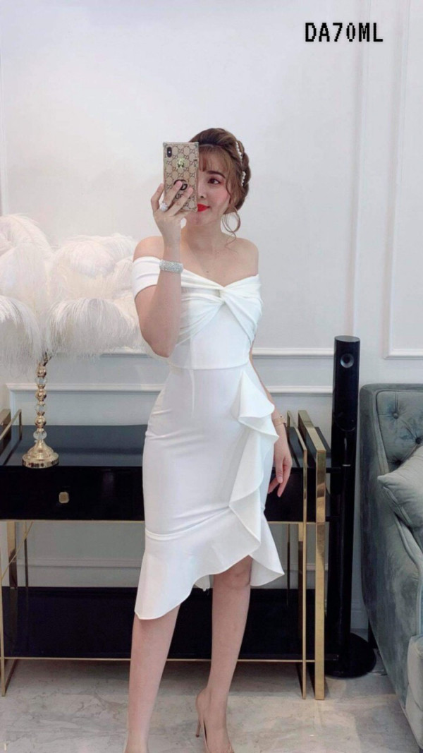 [PRE-ORDER] Mila Dress in White - HerSpace Closet