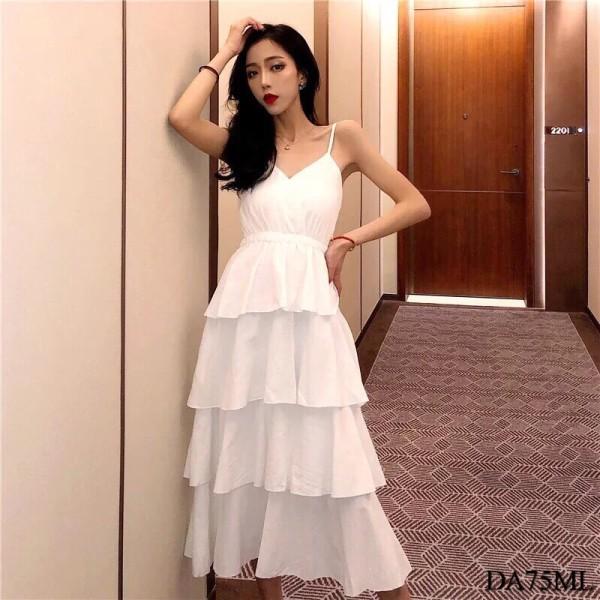 Vintage Summer Long Dress (Premium) - HerSpace Closet