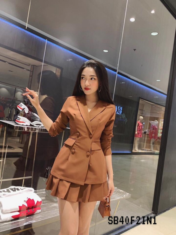 [PRE-ORDER] Emily 2 Pieces in Brown - HerSpace Closet