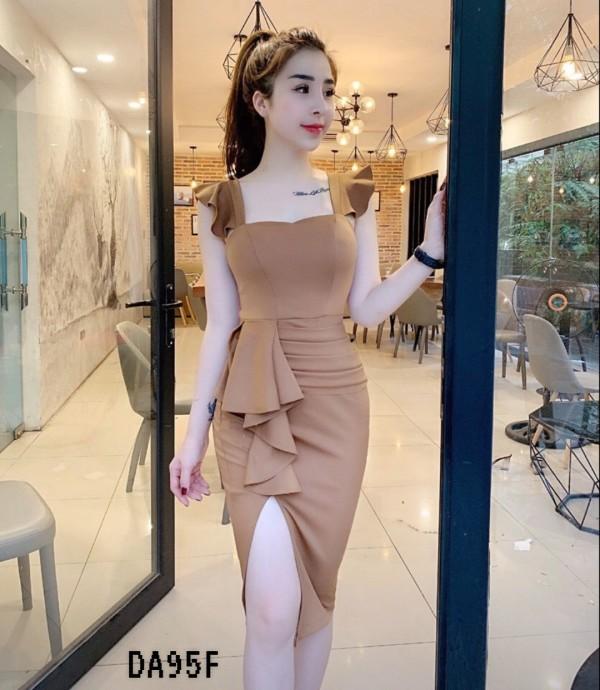 Brown Babylon Dress - HerSpace Closet