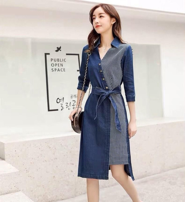 [PRE-ORDER] Designer Jeans Dress - HerSpace Closet