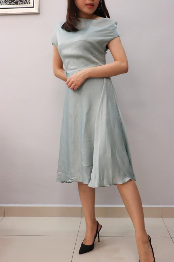 Elegant Kyla Midi Dress  - HerSpace Closet