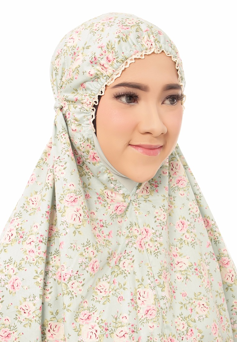 [PREORDER] Telekung De Humaira Pretty in Turquoise
