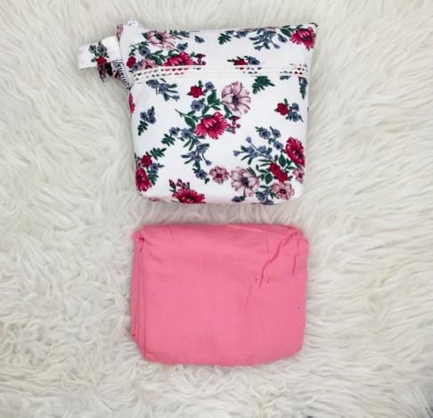 Telekung Delayla Premium Pink Rose (defect kecil)