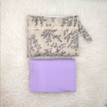 Telekung Delayla Premium in Lavender