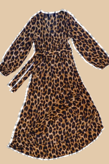 MEKNIS THE LABEL - Leopard Dress