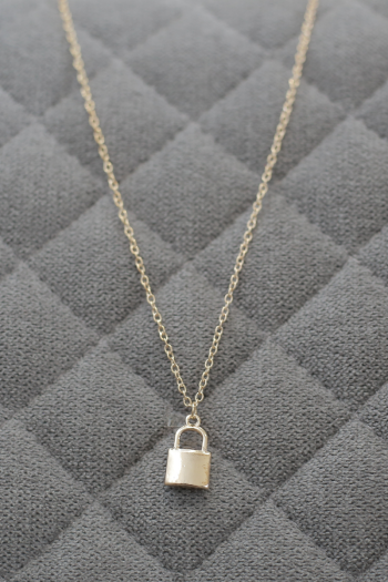 LOVE ME XO - Lock Your Love Necklace