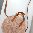 PRELOVED - H&M - Round Paper straw Bag - MEKNIS