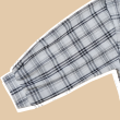 MEKNIS THE LABEL - Checkered Shirt with Puffed Sleeve - MEKNIS