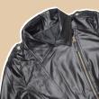 MEKNIS THE LABEL - Korean Leather Jacket - Black - MEKNIS