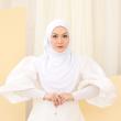 MEKNIS THE LABEL Yeoja Instant Hijab - Snow White - MEKNIS